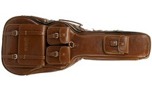 X-Tone Deluxe Leather Electric Guitar Bag