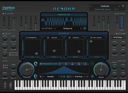2getheraudio RE4ORM Virtual Instrument