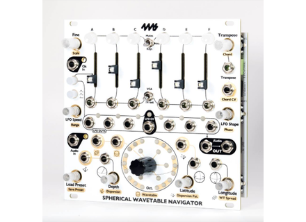 4MS Pedals Spherical Wavetable Navigator