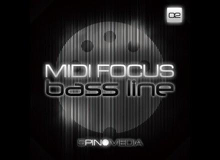 5pin Media MIDI FOCUS - BASS LINE