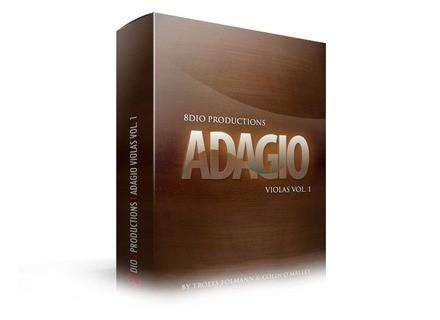 8dio Adagio Violas Vol 1