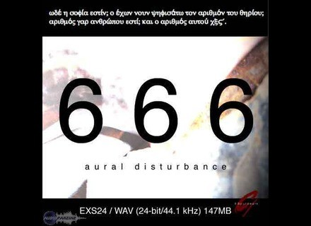 9 Soundware 666 Aural Disturbance