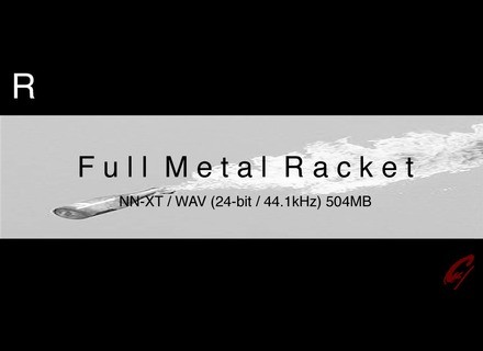 9 Soundware Full Metal Racket R