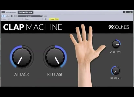 99Sounds Clap Machine