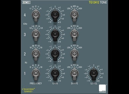 Abbey Road Plug-ins TG12412 Mastering Filter