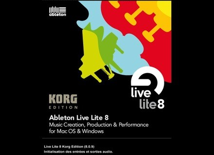user reviews ableton live lite 8 audiofanzine. Black Bedroom Furniture Sets. Home Design Ideas