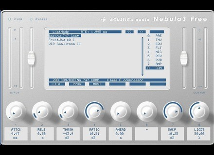 Acustica Audio Nebula 3 Free [Freeware]