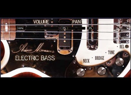 Adam Monroe Music Electric Bass