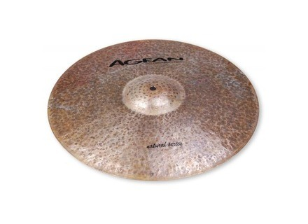 "Agean Cymbals Natural Jazz Ride 20"""