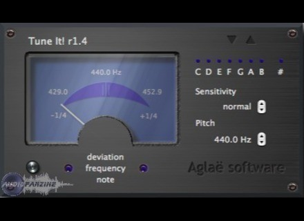 Aglaë software Tune It! [Freeware]