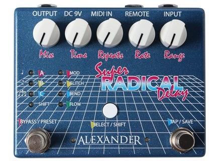 Alexander Pedals Super Radical Delay