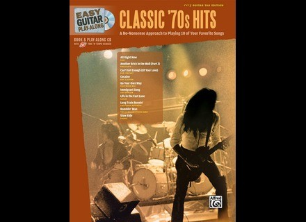 Alfred Music Publishing Easy Guitar Play-Along: Classic '70s Hits