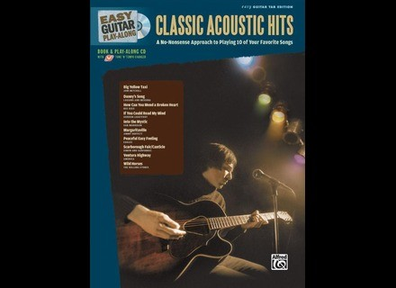 Alfred Music Publishing Easy Guitar Play-Along: Classic Acoustic Hits