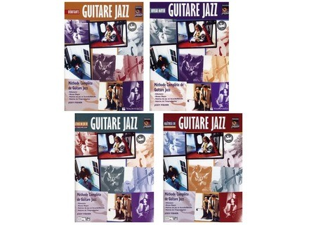 Alfred Music Publishing Méthode de Guitare Jazz Jody Fisher
