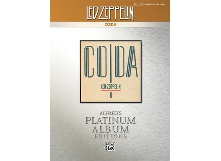 Alfred Music Publishing Platinum Album Edition Led Zeppelin: Coda