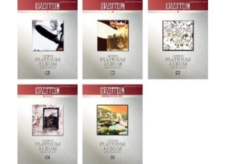 Alfred Music Publishing Platinum Album Edition Led Zeppelin Songbooks