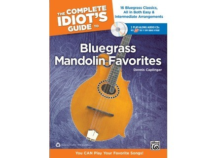 Alfred Music Publishing The Complete Idiot's Guide to Bluegrass Mandolin Favorites