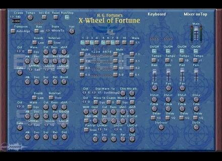AlgoMusic X-Wheel of Fortune [Freeware]