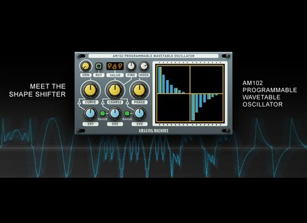 Amazing Machines AM102 Programmable Wavetable Oscillator