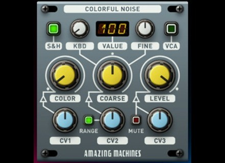 Amazing Machines Colorful Noise