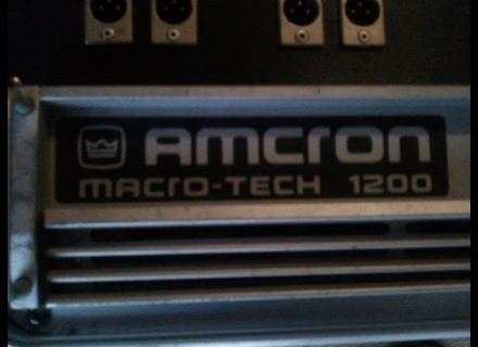 Amcron Macro-Tech 1200