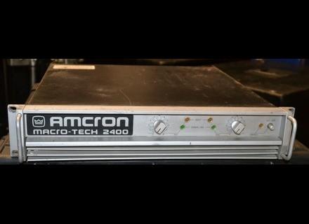Amcron Macro-Tech 2400