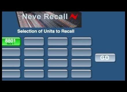 AMS-Neve Recall Software