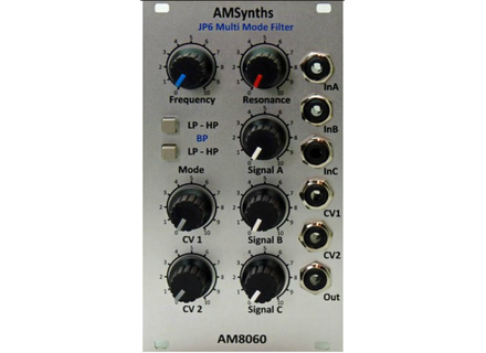 AMSynths AM8060 JP6 Multi Mode Filter