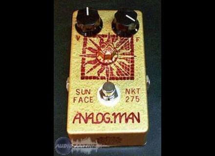 Analog Man SunFace NKT 275 with Sun Dial