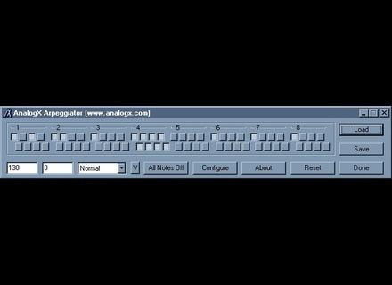 AnalogX Arpeggiator [Freeware]