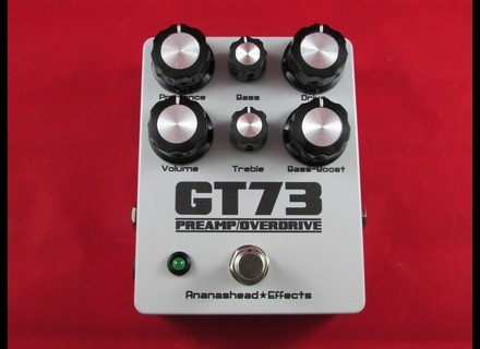 Ananashead Effects GT73 Preamp / overdrive