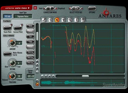 Antares Audio Technology Auto-Tune 4