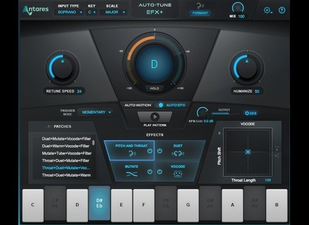 Antares Audio Technology Auto-Tune EFX+