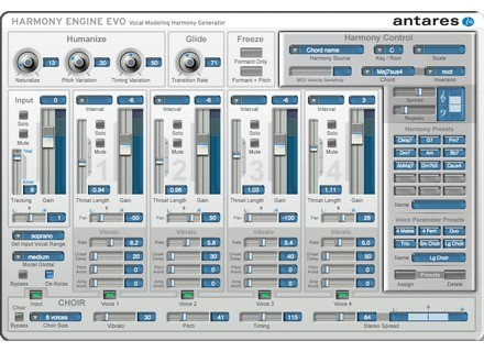 Antares Audio Technology AVOX Evo