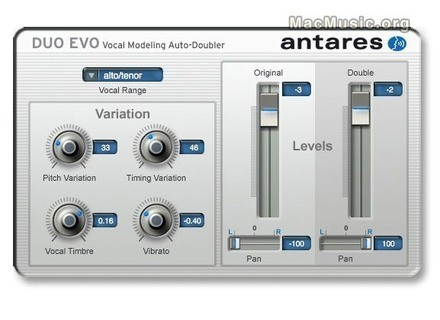 Antares Audio Technology DUO Evo Vocal Modeling Auto-Doubler