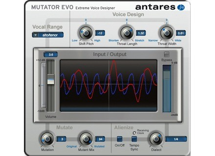 Antares Audio Technology Mutator EVO