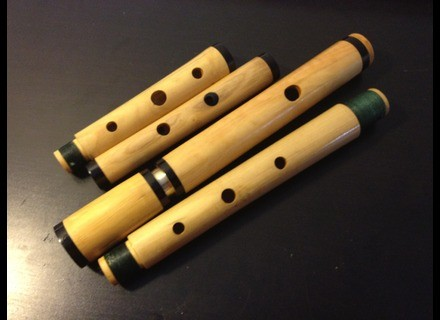 Antoine Laloux Flûtes Flûte traversière en bois, tonalité de Ré, sans clés