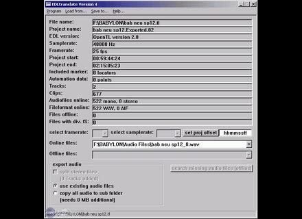 AP Sound EDL Translate 4.x