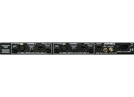 Aphex 207D Two Channel Tube Mic Preamplifier