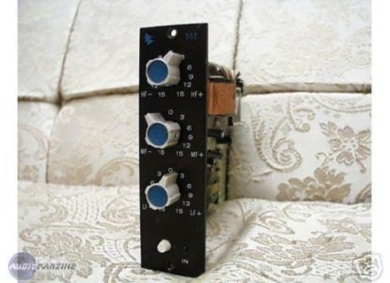 API Audio 553 3 band equalizer