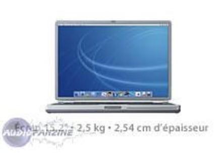 Apple PowerBook G4 1 Ghz 15''