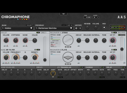 Applied Acoustics Systems Chromaphone