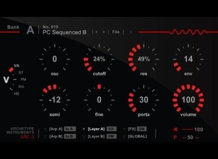 Archetype Instruments ARC5