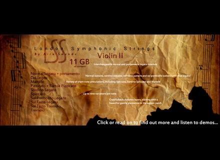 Aria Sounds London Symphonic Strings - Violin II