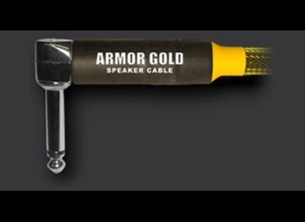 Armor Gold Cables Right Angle End