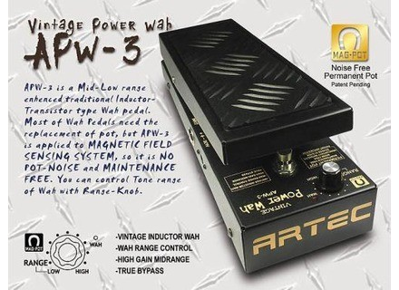 Artec APW-3 Vintage Power Wah