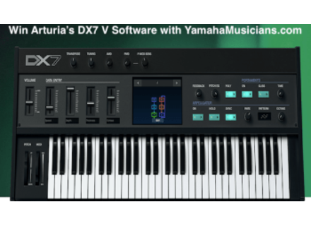Arturia DX7 V collection