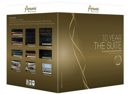 Arturia The 10 Year Suite