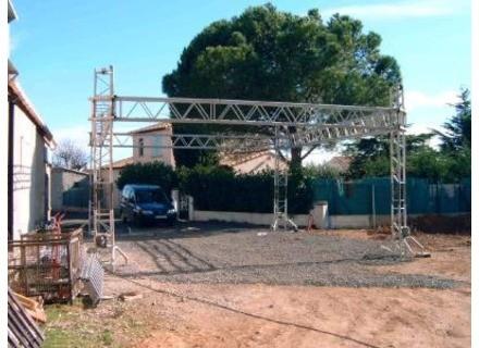 ASD gril 8m x 6m avec towers