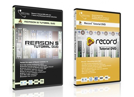 Ask Video Reason 5 Tutorial DVD